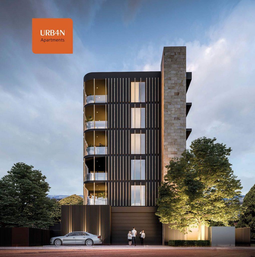 URB4N Apartments Exterior